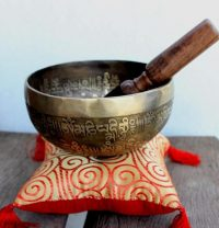 Double Dorje Tibetan Bowl