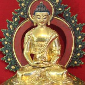 Amitabha Buddha full gold statue
