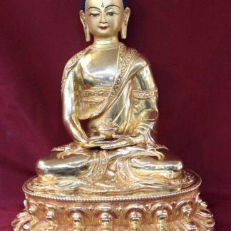 Gold Buddha Statue-Amitabh Buddha