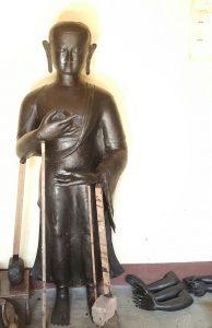 Buddha Statue Wax Model