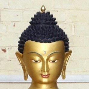 Gold Buddha - long buddha ears