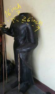 Wax Model Buddha Statue