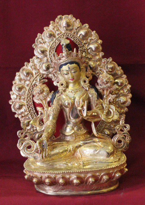 Consort of Vairochana is White Tara