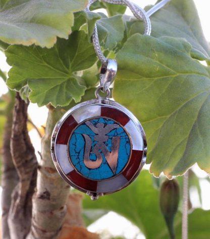 tibetan om symbol charm