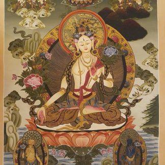 White Goddess Thangka