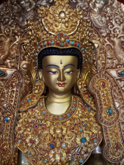 Big Buddha Statue Shakyamuni face