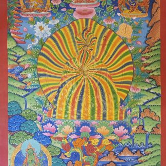 rainbow guru thangka