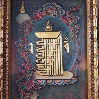 Kalachakra Relief Thangka Art