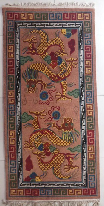 Tibetan Dragon Carpet