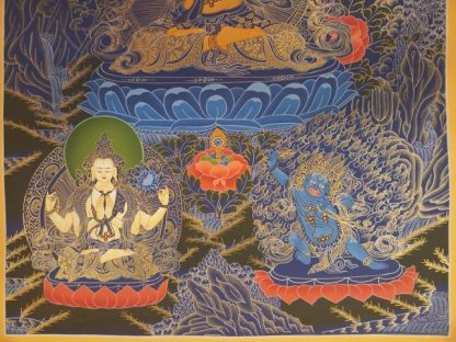 manjushri thangka base