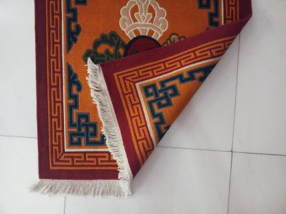 Double Dorje Carpet backview