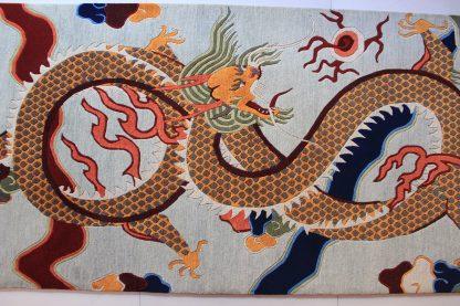 Tibetan Dragon Rug horizontal