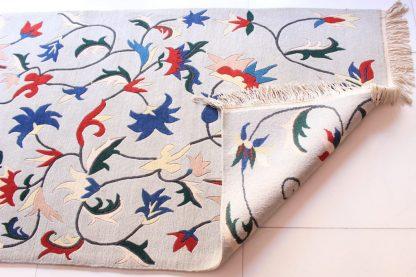 Tibetan Flower Carpet backview