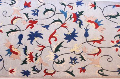 Tibetan Flower Carpet blue