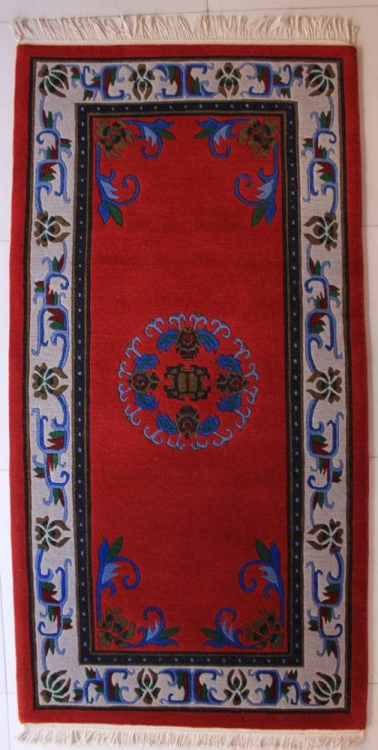 Tibetan Flower Mandala Carpet