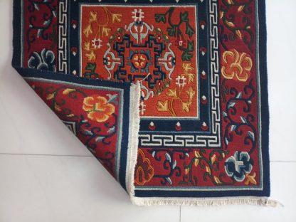 Tibetan Mandala rug backview