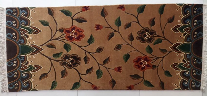 Tibetan carpet flower horizontal