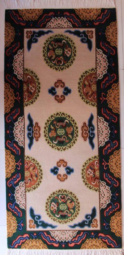 Tibetan lotus carpet