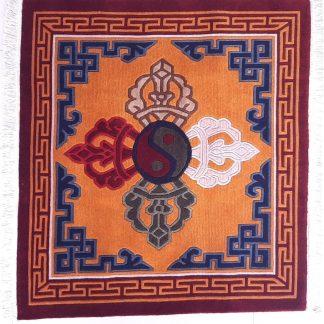 Tibetan Rug Double Dorje