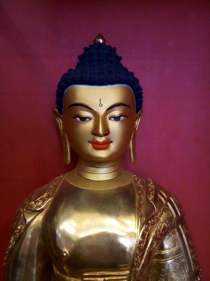 Shakyamuni Buddha Full gold face