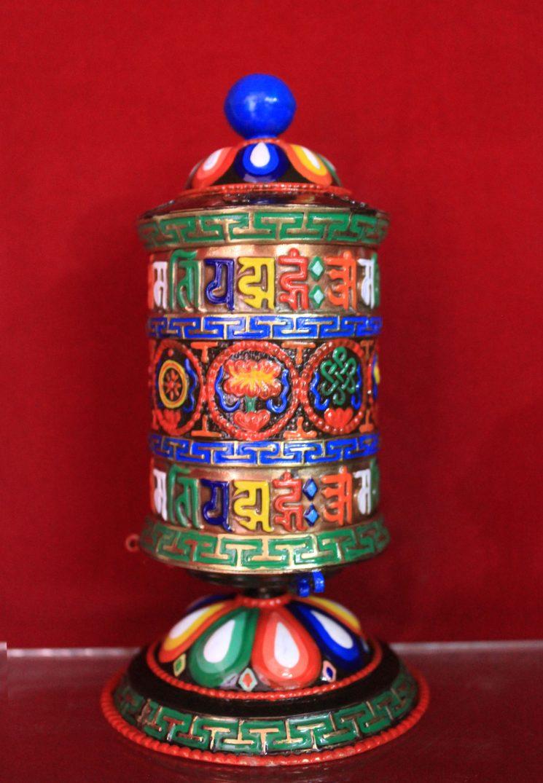 meditation gift-prayer wheel