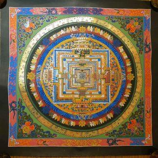 Kalachakra Buddhist Painting