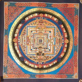 Tibetan Wall Art kalachakra Mandala Altar Decor