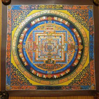 kalachakra Mandala thangka