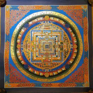 kalachakra Mandala thangka painting