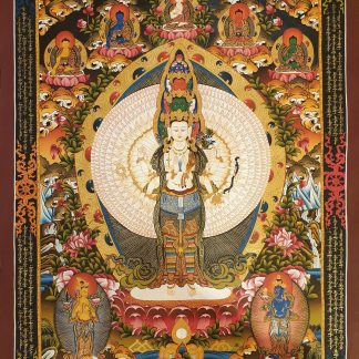 Avalokitesvara wall art decor