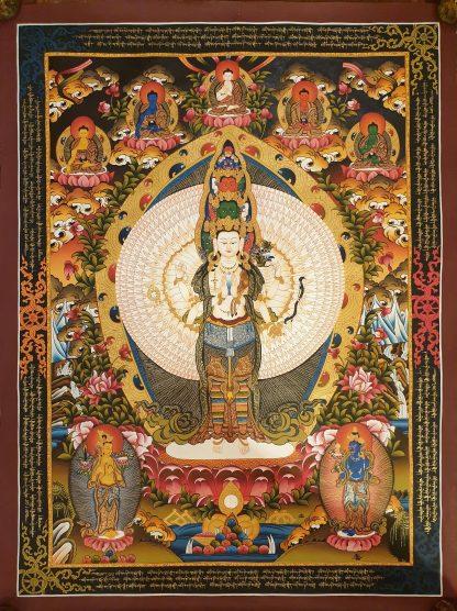 Avalokitesvara wall art decor