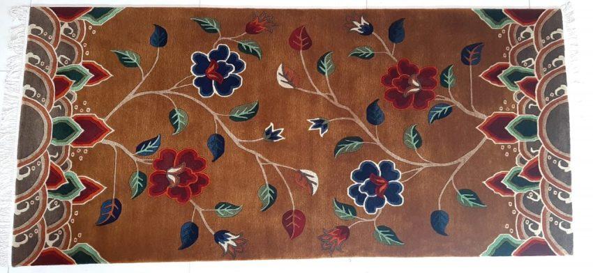 Tibetan Carpet Flower Rug