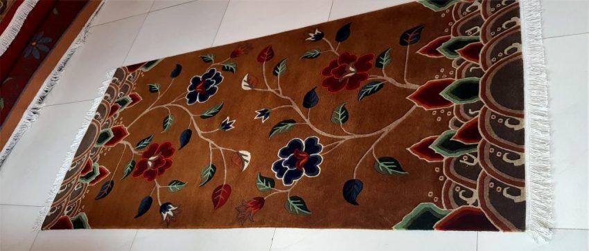 Tibetan Carpet Flower Rug home decor