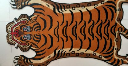Tibetan Tiger Rug floor decor