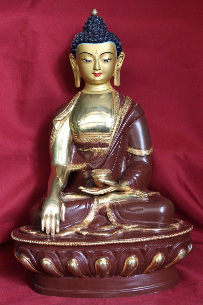 Shakyamuni Buddha Golden Statue