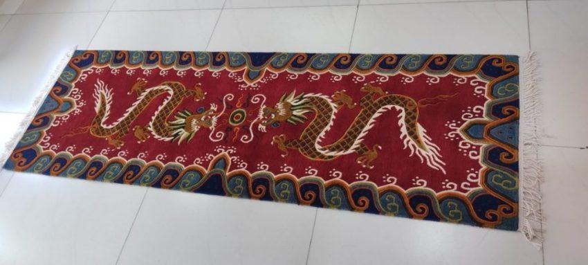 Tibetan Dragon Runner Mat Gifts