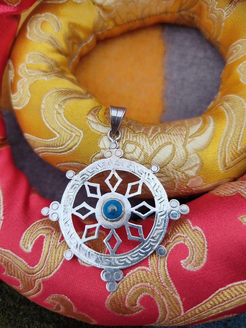 Dharma Chakra Pendant gift