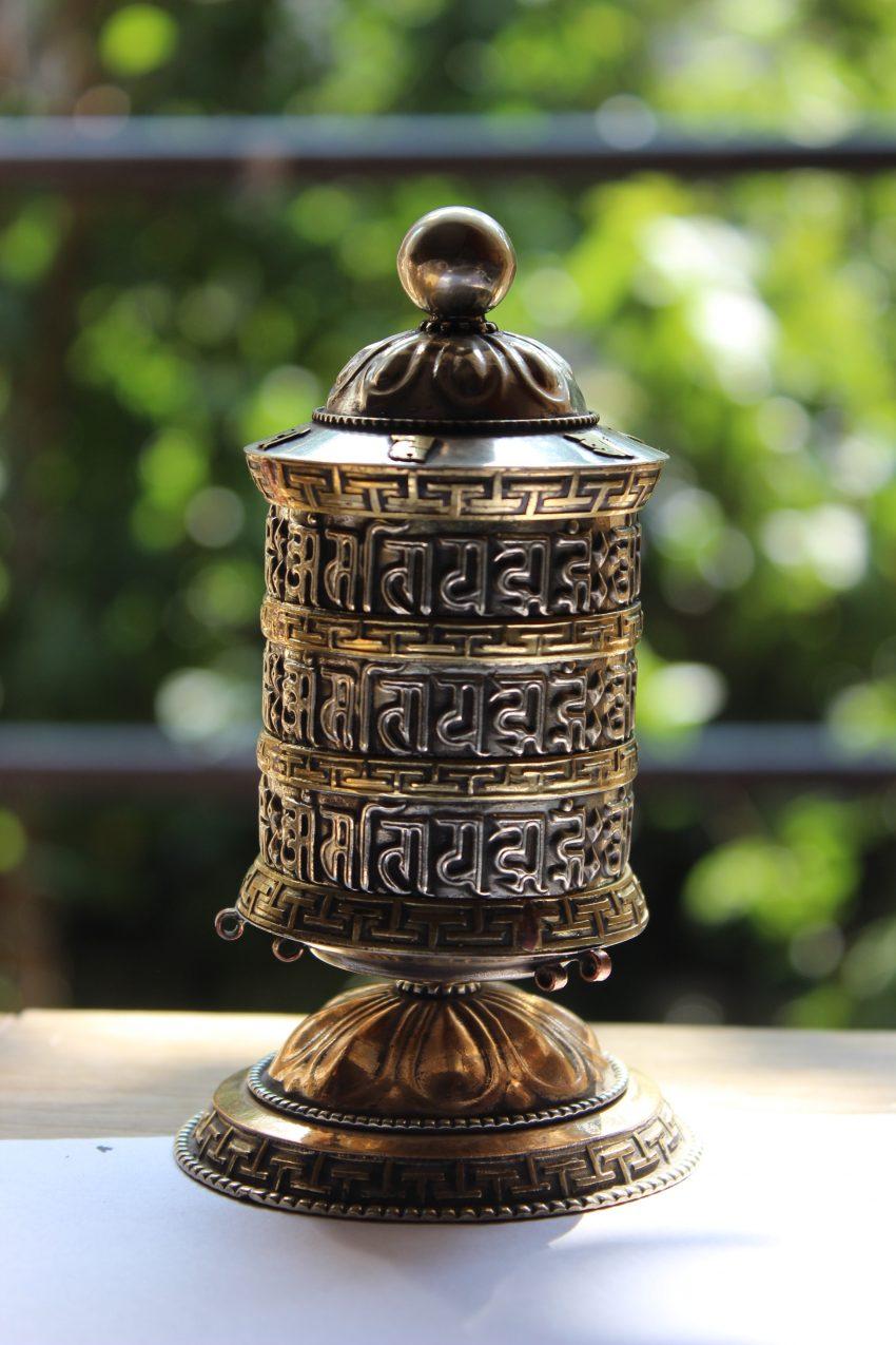 Om Mane Mantra Prayer Wheel gifts